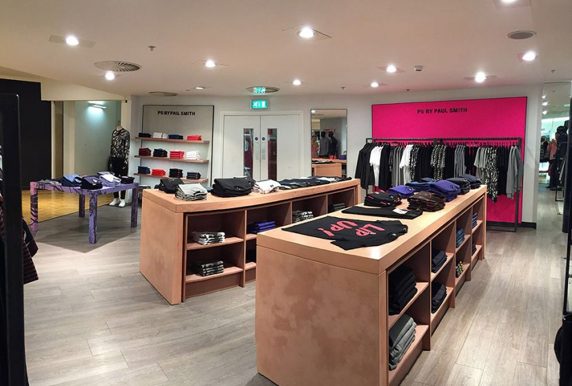 Paul Smith House of Fraser Manchester